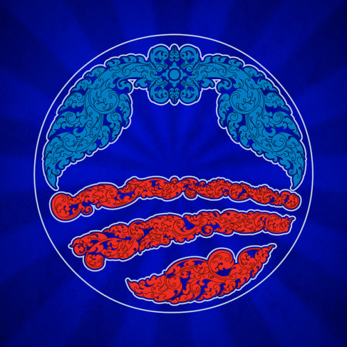 Used traditional Khmer design elements to recreate the Obama Logo for Cambodia Democrats Abroad organization.
