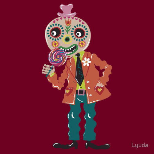 """Sweet Halloween"" by Lyuda t-shirt, hoodie, and sticker on RedBubble"