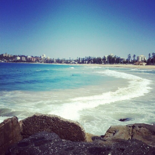 losemyselfinadream:  #manlybeach #manly #beach #ocean #waves #summer (Taken with Instagram)