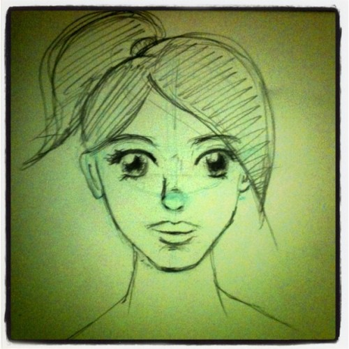 mizmlee:  One of many princess Adrienne sketches. Still lots of work to do >.< #comics #princeless #sketchbook #drawing (Taken with Instagram)  Excellent Adrienne sketch from upcoming pinup artist mizmlee.  Can we all agree that she's killing it?