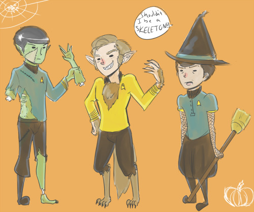 2spocky:  No McCoy, you are a witch doctor. And you will like it.