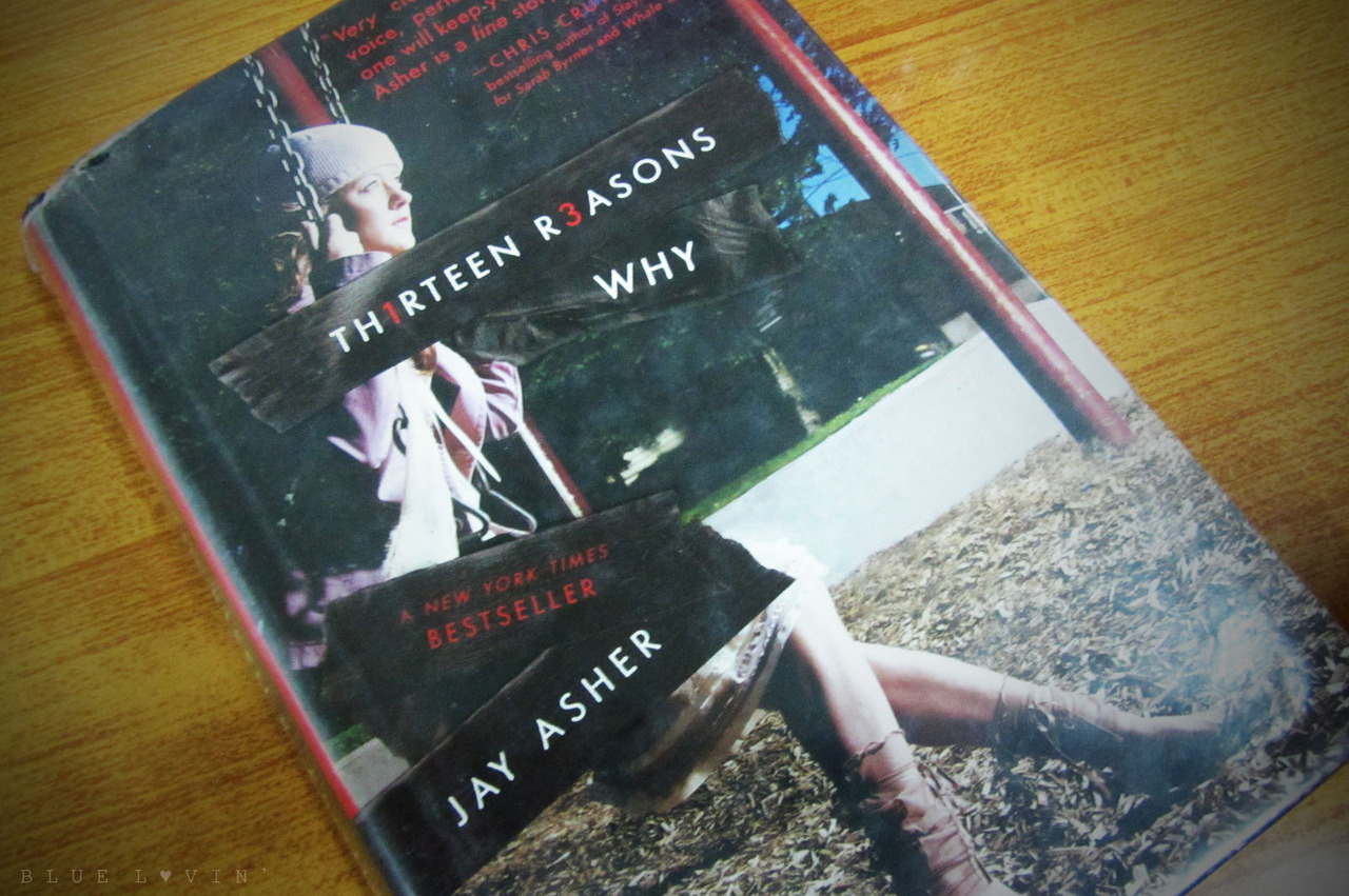 I finished reading Thirteen Reasons Why in less than 24 hours! Can you believe that? I think my interest in books is coming back. Or maybe my reading comprehension just improved. Whatever. I was excited to read this book because I had a feeling that it's a mystery novel. Like come on, I wanna know the thirteen reasons why the girl killed herself. As I read the book, I get disappointed. I just kept reading it until the end, hoping for some shocking revelations but there's nothing that made me understand why she had to kill herself and blame people for it. I rated this 2/5 stars on Goodreads despite of the other members' high ratings. Maybe I just expected too much.