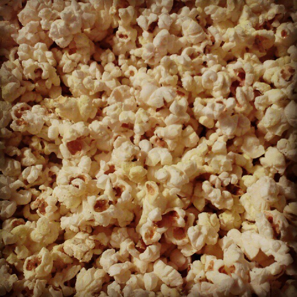 #popcorn #butter #salt #snack #food #yum #delicious  (Taken with Instagram)