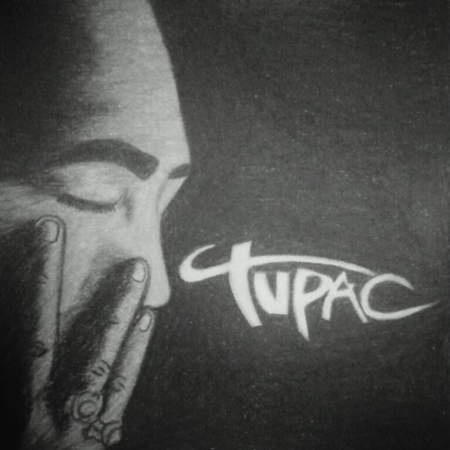 old-school-shit:  Thought I'd do one for Pac.