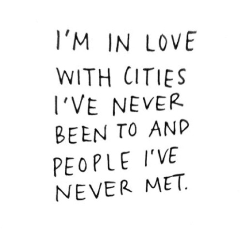 //Cities and ppl  #cities #inlove #people #quote (Taken with Instagram)