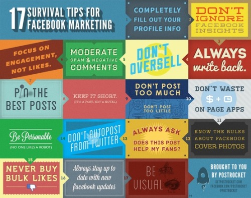 mediodrom:  17 survival tips for Facebook marketing