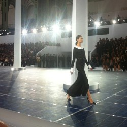 Favorite look from Chanel. NP (Taken with Instagram)