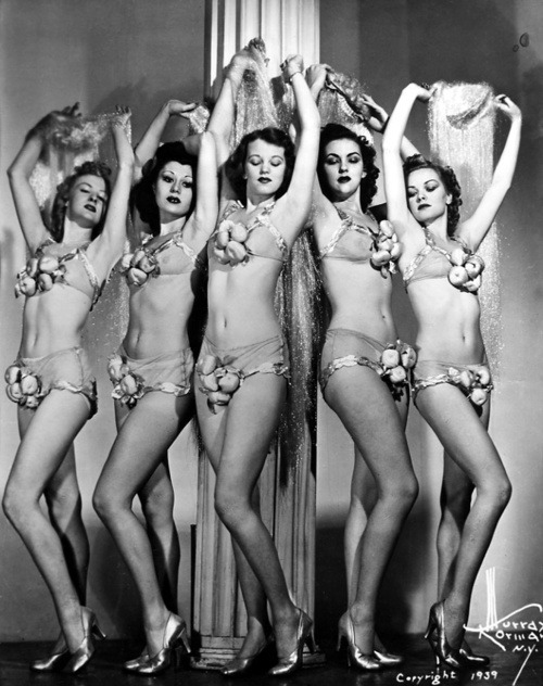vintage-retro:  1930's Showgirls