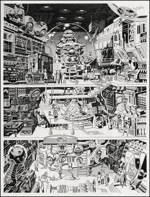 psychosulfur:  Fully Computerized, by Wally Wood. Via: The Pictorial Arts.