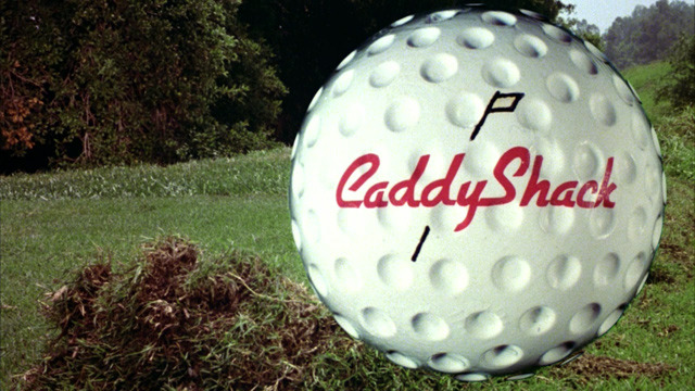 Title Screens: Caddyshack (1980) Directed by Harold Ramis Starring: Chevy Chase, Rodney Dangerfield, and Bill Murray IMDB Page (via:iamsoretro)