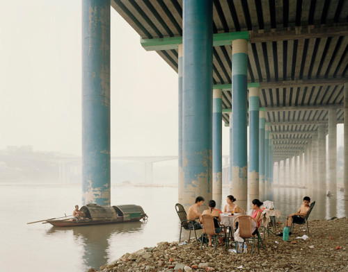 "Nadav Kander's series, Yangtze: The Long River has won some of photography's most prestigious awards, and next month it will make its debut in New York at Flowers Gallery. Ironically, though only five years have passed since the images were shot, they depict landscapes that have since changed drastically. ""They really do feel like pictures that can never be taken again,"" the photographer says."