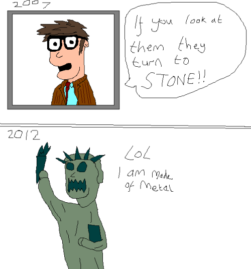 paintdoktahwho:  Sorry, ten, you've been MOFFAT'D!!   Statue of Liberty as Weeping Angel makes no goddamn sense
