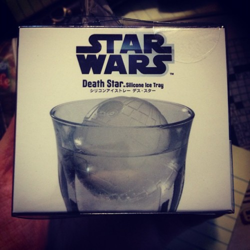 #starwars #icetray #deathstar #chineseconnection  (Taken with Instagram)