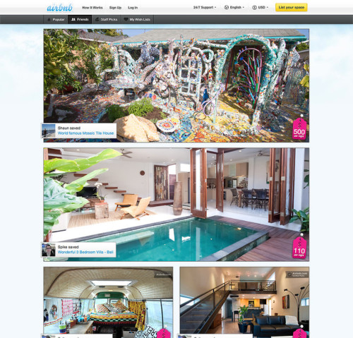 How Airbnb Evolved To Focus On Social Rather Than Searches