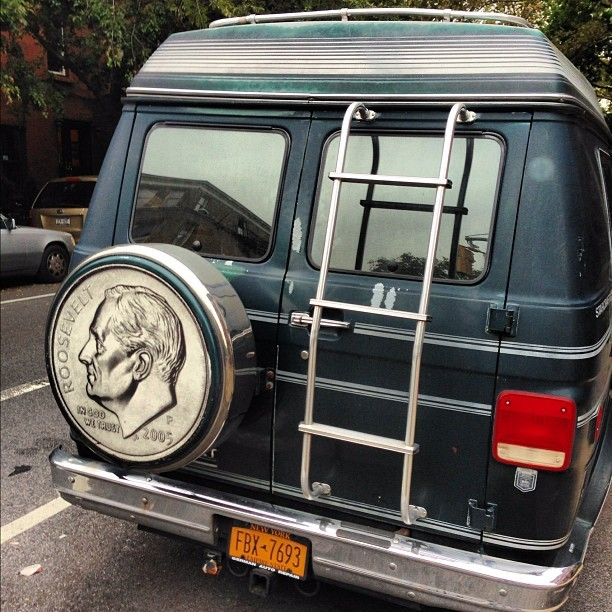 This van can can turn on a dime (Taken with Instagram)