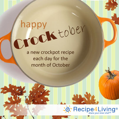 Today's Crocktober recipe is pumpkin themed!