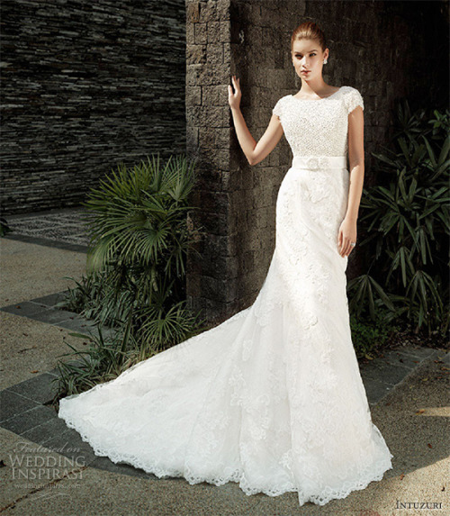 20somethingbride:  helloweddingdiary:   Intuzuri 2013 bridal collection  Gorgeous!