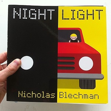 Image of the Day: A sneak peek at Nicholas Blechman's first children's book, Night Light, due out next summer.