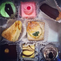#cake #food #dessert #tiramisu #brownie #chocolate #cheese #colourful  (Taken with Instagram)