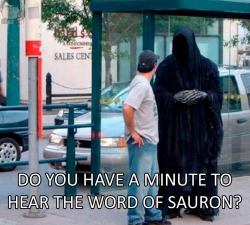 smyrno:  the word of sauron