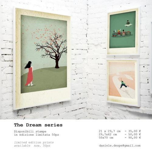 THE DREAM Sono in vendita le stampe a tiratura limitata di 50 pezzi.Limited edition prints are aviable now.( http://bit.ly/PAbhQY)  per info daniele.despe@gmail.com