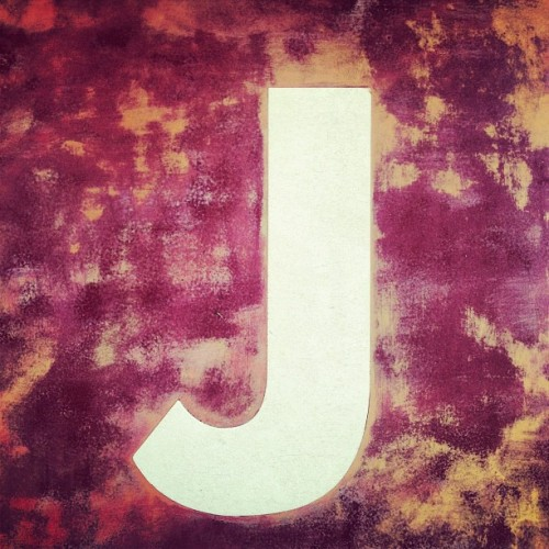 """J"" is for JJ (Taken with Instagram at Juan Pelota Café)"