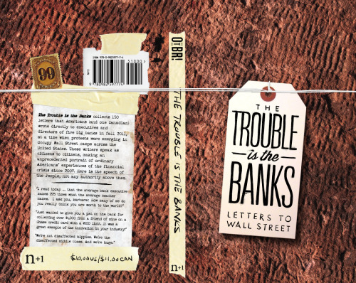 Last day to pre-order The Trouble is the Banks: Letters to Wall Street in order to receive it direct from the printer!