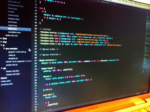 Sublime Text 2 - tips for getting started I've tried many, many code editors in the 10+ years I've been a web developer, but I've always found myself coming back to TextMate - nothing seemed to beat such absolute simplicity combined with subtle extensibility… until I started using Sublime Text 2. It can be tricky to get started with Sublime and make everything 'nice', so I thought I'd share a few tips kindly passed on to me by my good friend (and Sublime guru) Ben Reid. 1) Install Package Control - this will be your one-stop shop for finding and installing most (if not all) of Sublime's packages, which are much like Textmate bundles. Even cooler still - Textmate bundles work with Sublime too! 2) Installing packages - invoke the 'Command Palette' using cmd+shift+p and begin typing 'package' to see the available package commands. Choosing 'Install Package' then allows you to search through the squibillions of packages available to install. 3) Recommended packages: Emmet (was ZenCoding) - insanely powerful code creation plugin. Invoke the 'Koan' at the bottom of the screen with ctrl+alt+enter and try tapping out 'div#page>div.logo+nav#main-nav>ul>li*5>a' to see what I mean! Find out more about the syntax and other functionality via the documentation. Also includes Lorem ipsum generator - type 'lorem' and press tab! (Thanks to @matt_willmott & @alexkwatson) SideBarEnhancements - Allows for improved file management in the project/file browser sidebar. AdvancedNewFile - enhanced right-click menu and fast file creation. Press alt+cmd+n to create a new path-based file anywhere in the project without the need to browse there directly. Nettuts+ Fetch - great for grabbing, unpacking and installing common libraries and apps, e.g. WordPress. Delightfully handy. Element Finder - Fine-tuned searching within your project using CSS syntax. Note that this package requires Node.js to be installed. 4) Install a theme - Sublime themes are packages too and installed using the same approach as above. Ben recommended Soda theme which I very much like. A restart may be required. 5) Tweak your settings - one thing that may seem a little daunting at first is Sublime's text-file settings. First, have a read of the Default settings file (via Preferences > Settings - Default) as it includes comments/documentation. Next, it is recommended that you copy/paste these settings into your User settings file to tweak them - this leaves Default settings unaffected so you can easily roll back if required. Also note that some settings can also be changed via the Preferences menu. 6) Choosing a typeface - I never realised how important my coding font was until I began using a really nice one. Fonts available for Sublime are based on your installed fonts so you can either use an existing one or, preferably, download the beautiful (and free) Inconsolata. In your settings, enter the font name in the 'font_face' property and specify a size here too. You can resize the font via Preferences too. 7) Choosing a colour scheme - Again, I didn't realise how important my code editor colour scheme was until I began using one of Sublime's dark background colour schemes. Opening an editor with black text on a white background now makes me wince! Choose a colour scheme from the Preferences menu - I recommend Twilight as the soft pastel colours are really easy on the eye… 8) UPDATE: Bonus tweaks - I've been using Sublime for some time now and absolutely adore it. As such I've been steadily tweaking it to my liking and thought I'd share some: remember_open_files = false(disables last opened files/project) hot_exit = false(in conjunction with the above, prompts to save files on exit) 9) UPDATE 2: Interactive theme builder - That infinitely-superb Ben Reid tweeted about an interactive theme builder for Sublime. Go forth and NEON. There is so much more to Sublime than I've covered here but I hope that the above can help you get started - especially if, like me, fear of change has been putting you off! Also, if you have any other tips and tricks, please post them down in the comments!