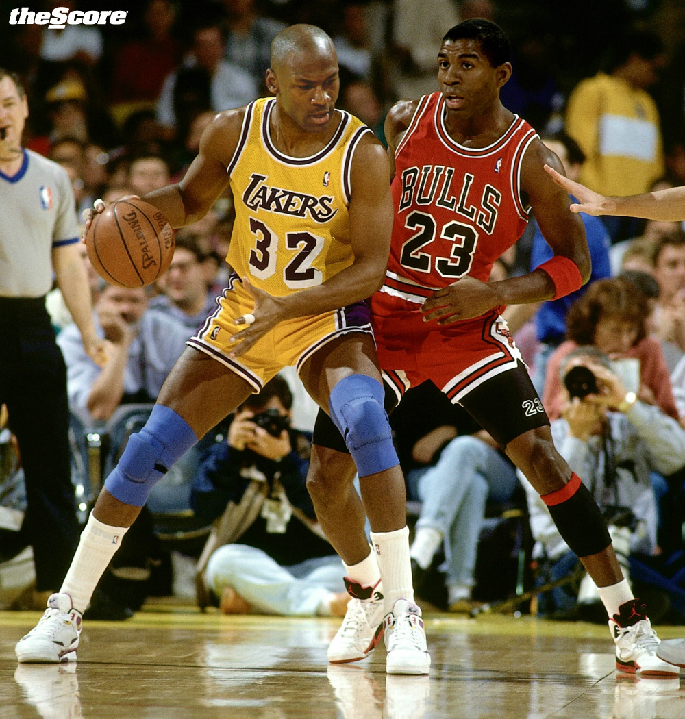 MJ vs. Magic: This breaks every rule in the book, but it's too awesome to keep hidden.