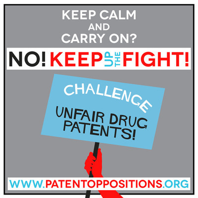 doctorswithoutborders:  MSF Access: Patent Opposition Database There are many reasons why people lack access to essential medicines, but one of the major barriers is the high price of drugs. Patents prevent the open competition that could drive prices down to lower, affordable levels. MSF Access Campaign launched an online database to help groups challenge unfair drug patents. Don't give up. Keep up the fight!