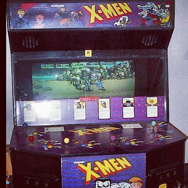 One of the #best #arcade #games ever! #xmen #gaming #wolverine #x-men #classic #awesome #epic  (Taken with Instagram)