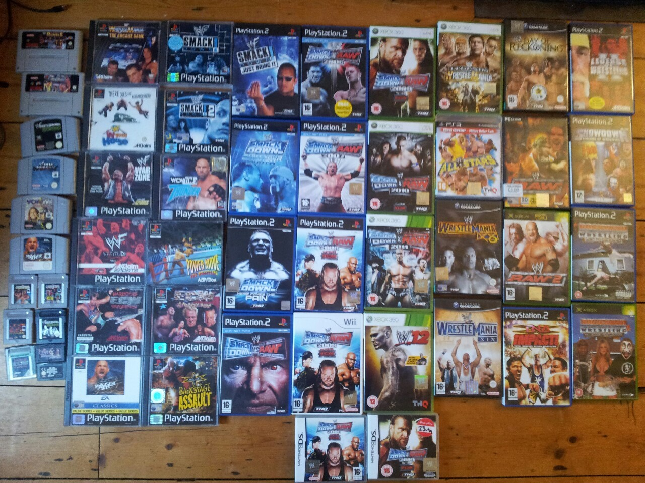 You could say i like pro wrestling video games