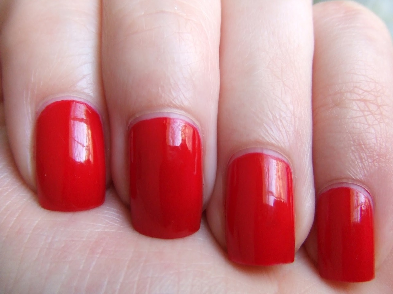 Butter London's Come to Bed Red. I think I might have found *my* red! -nichole