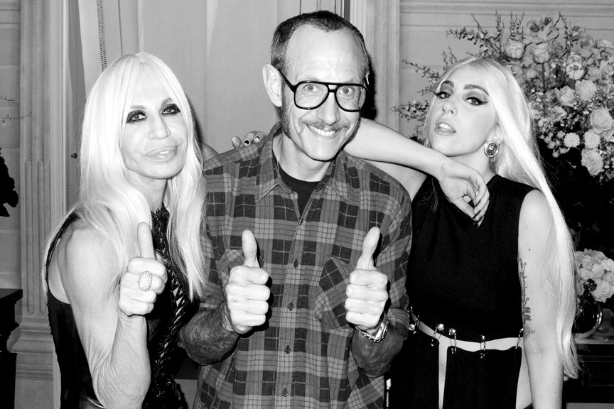 terrysdiary:  Me, Donatella and Gaga #1