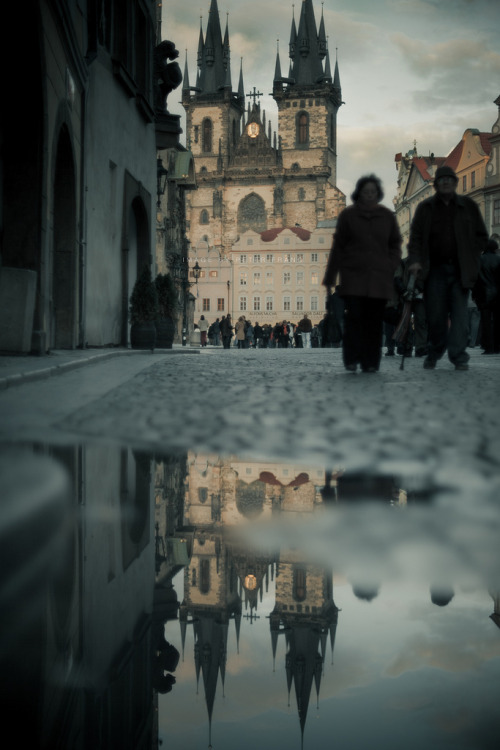 acoldandpaleaffair:  like a whisper (by sadaiche (Peter Franc))  Prague