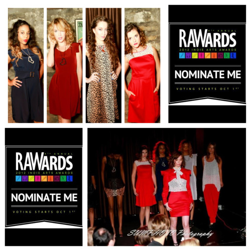 Don't forget to vote for me at www.rawartists.org/trywesley Vote now and everyday until Oct 15th