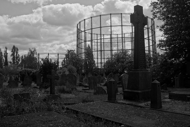 Company of the Dead on Flickr.Back after a short Tumblr break with one from the start of the summer at Kensal Green Cemetery.