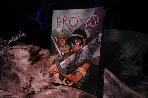 zackules:  Broxo is officially out today! Don't forget to join me tonight at Pandemonium for a signing, reading, ribs, raffle and who knows what else?