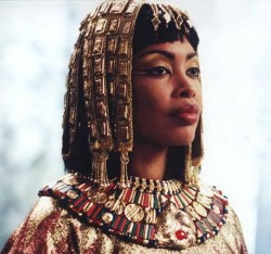 thehereticpharaoh:  The beautiful Gina Torres as Queen Cleopatra in Xena: The Warrior Princess.