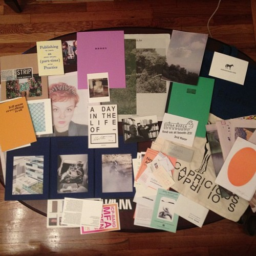vuucollective:  It was a successful weekend at the NY Art Book Fair (Taken with Instagram at VUU Collective)