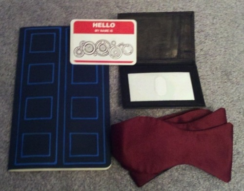 Doctor Who accessory pack on ebay until Sunday!