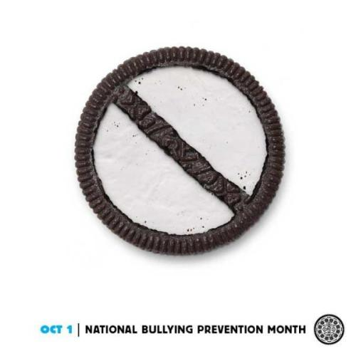 "alloutorg:  It started with the rainbow Oreo, but now they've taken off. America's favorite cookie is doing a ""Daily Twist"", some with serious messages."
