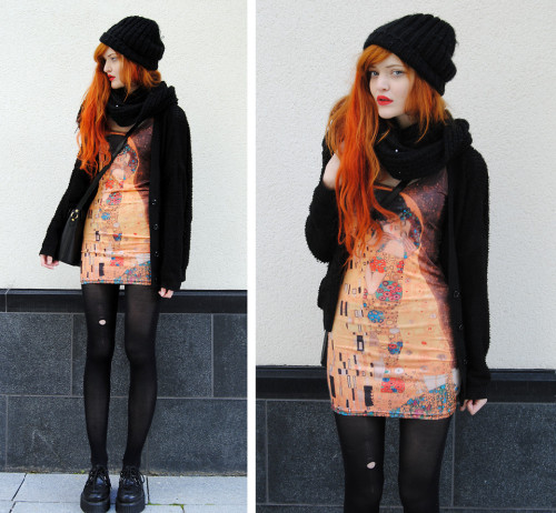 lookbookdotnu:  Klimt 3 (by Cosette Munch)
