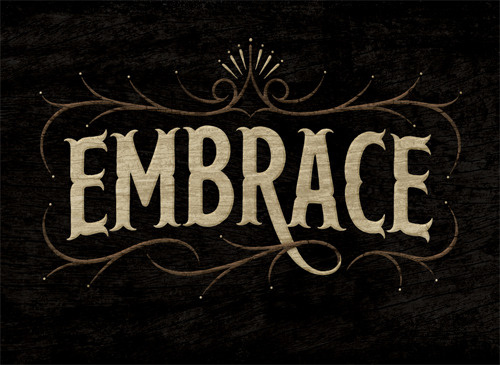 typeverything:  Typeverything.com - Embrace by Simon Ålander.