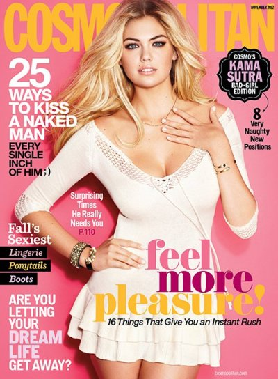 Kate Upton for Cosmopolitan Magazine [November 2012]