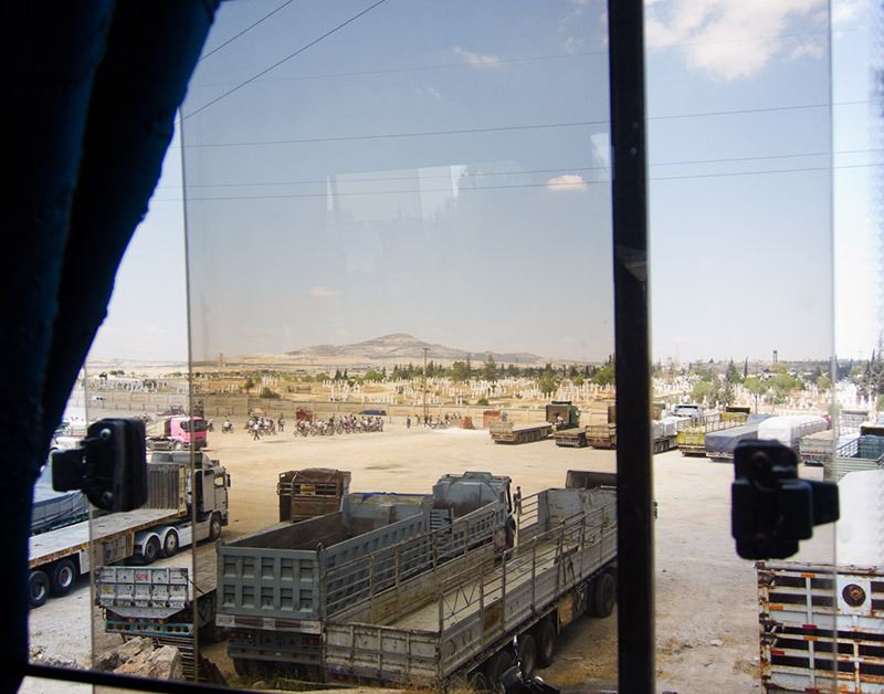 5.22.10 on a bus from Palmyra to Aleppo