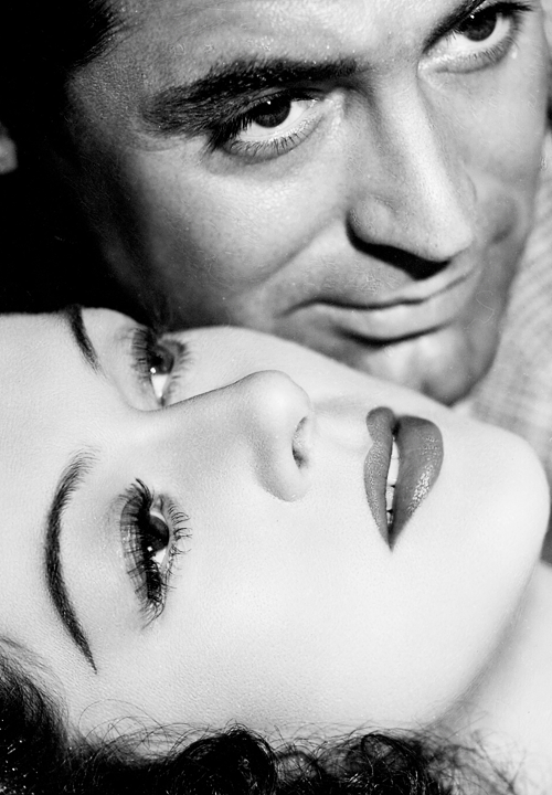steamboatbilljr:  Rosalind Russell and Cary Grant in a publicity photograph for His Girl Friday, 1940