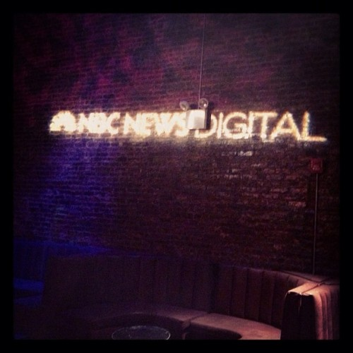 @nbcnews in the hizzity house (Taken with Instagram at The Liberty Theater)