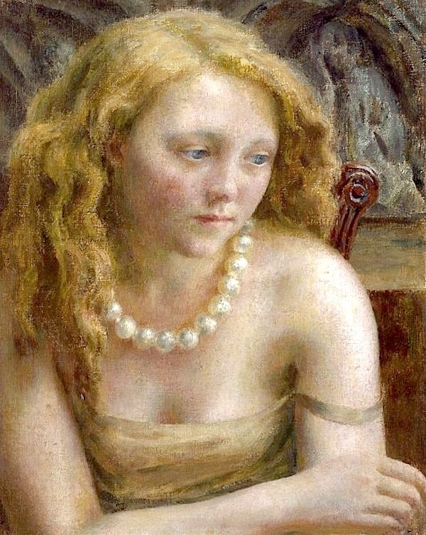 bofransson:  Dod Procter-The Pearl Necklace. 1932-1941