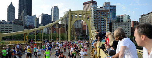 Just signed up for the Pittsburgh Half Marathon and 5k run in May! It's going to be a huge event! I want to get a couple halves under my belt and possibly run the full in 2014—right after I graduate from college!
